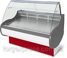 Витрина холодильная среднетемпературная  ВХС-1,2 ТАИР (0...+7)