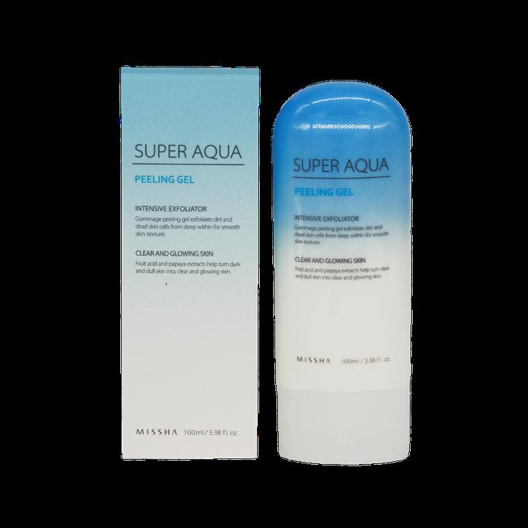 Пилинг-гель Missha Super Aqua Peeling Gel,Отшелушивающий пилинг-гель для улучшения текстуры кожи лица, фото 2