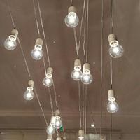 Гирлянда Уличная Лампочки LED 40 Белая, 650 см, прозрачный провод, переходник (1362-03)