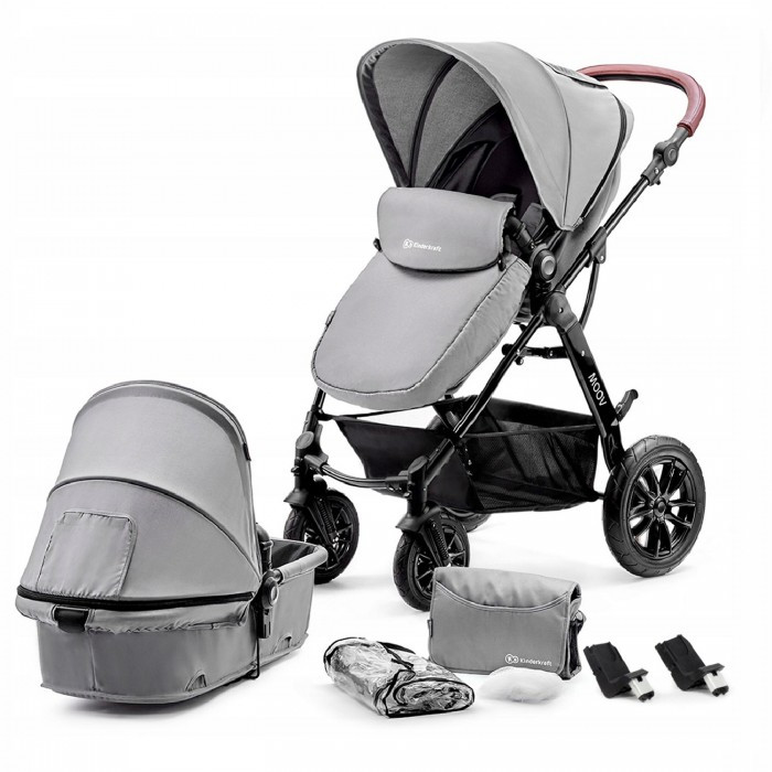 Коляска Kinderkraft Moov 2 в 1 Grey