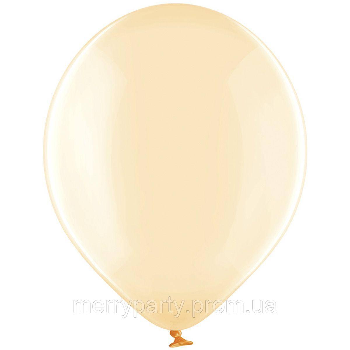 "12"" (30 см) кристалл леденец оранжевый 105/047L Belbal Бельгия латексный шар"