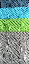 Полотенце/коврик для ног (серый), фото 2