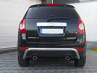 Задняя дуга на Chevrolet Captiva 2006-2010 (AK 007 d60мм s=2мм)
