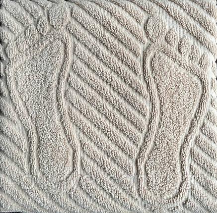 Полотенце/коврик для ног (бежевый), фото 2