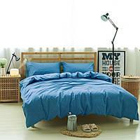 Комплект льняного постельного белья Лен, Ультрамарин №1267