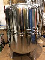 Гидроаккумулятор водоснабжения 100 л вертикальный нержавейка LIDER