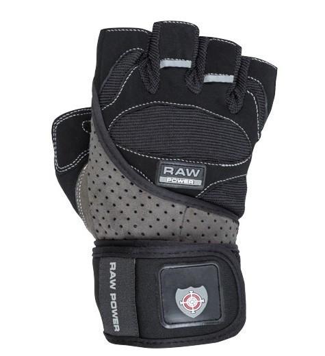 Перчатки для тяжелой атлетики Power System Raw Power PS-2850 XXL Black/Grey