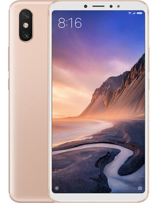 "Смартфон Xiaomi Mi Max 3 6/128Gb Gold, 8 ядер, 12+5/8Мп, 6.9"" IPS, 2 sim, 4G, 5500мАh"