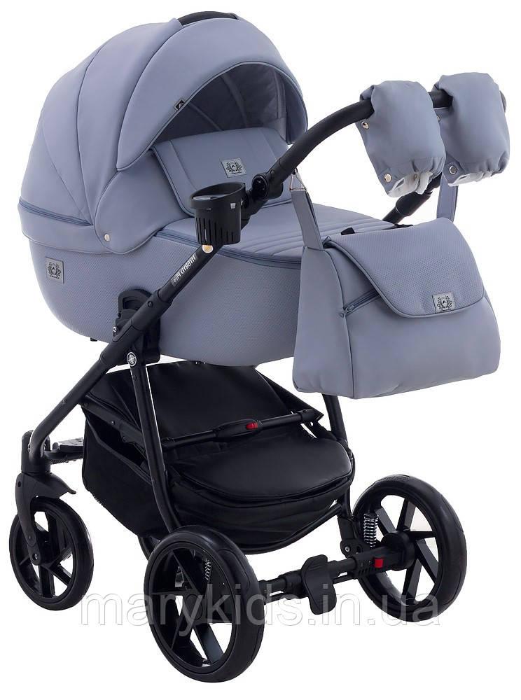 Детская универсальная коляска 2 в 1 Adamex Hybryd Plus BR333