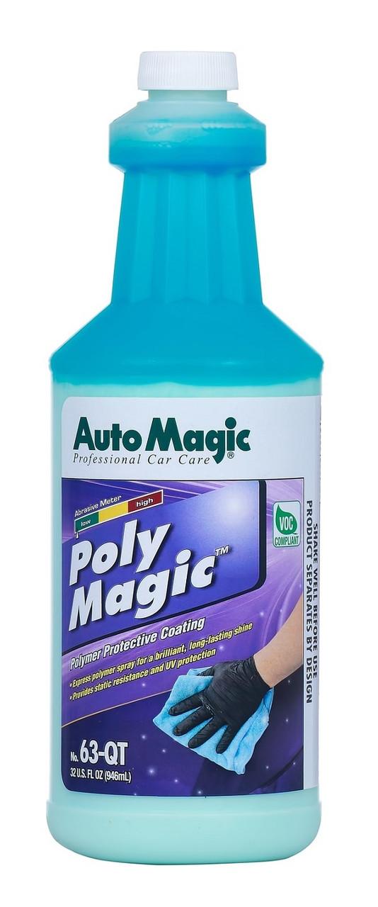 Auto Magic Poly Magic полимер-консервант с антистатическим эффектом
