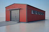 Промышленное строительство (ЛСТК)