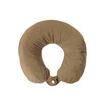 Дорожная подушка для путешествий, коричневый