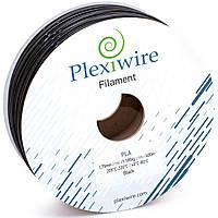 PLA/ПЛА пластик черный цвет Ø1.75мм для 3D принтер, 3D ручка 400м (1,185г) от Plexiwire