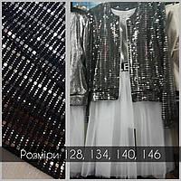 Хит!! Очень модный костюм тройка на девочку с пышной юбкой ажур 122р/146р много цветов