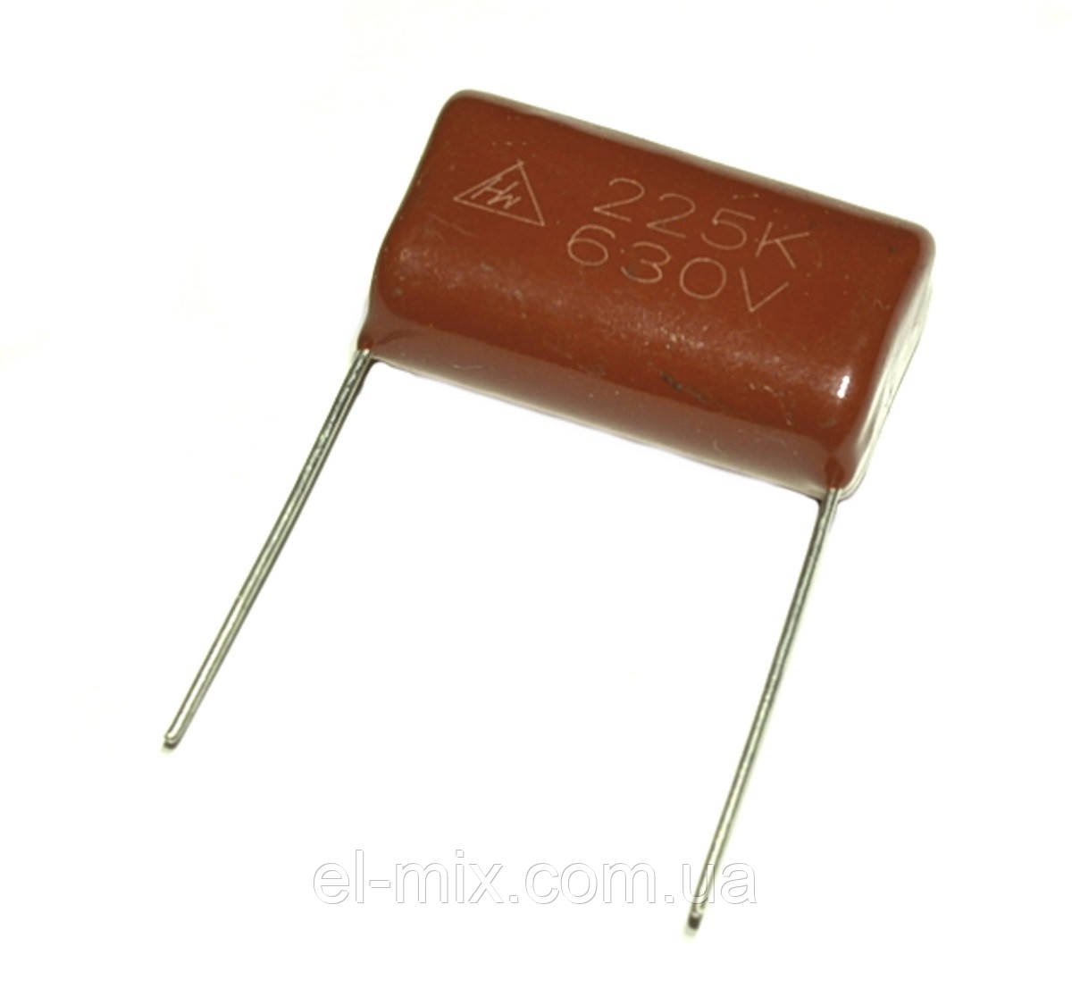 Конденсатор поліефірний CL-21 2.2 µF 630VDC, ±10%, Hw