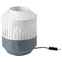 IKEA MAJORNA (103.238.58) Настольная лампа белого/серого цвета