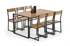 Столовый комплект Bolivar стол + 6 кресла   (Halmar)