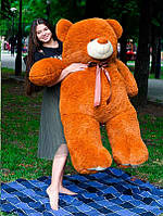 Плюшевый Мишка Ветли 160см Большой Мишка игрушка Плюшевый медведь Мягкие мишки игрушки Ведмедик (Коричневый)