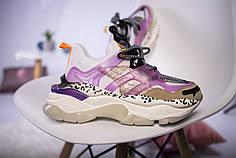 Женские кроссовки Violeta White Pink