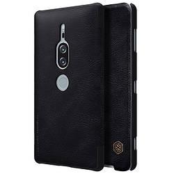 Чехол-книжка для Sony Xperia XZ2 Premium, Nillkin Qin Series, кожаный