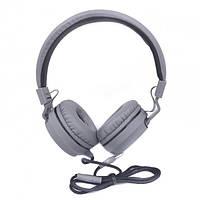 Наушники с микрофоном Ukc SE-5222 Grey