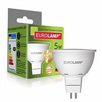 Диммируемая LED Лампа Eurolamp 5W GU5.3 4000K, фото 1