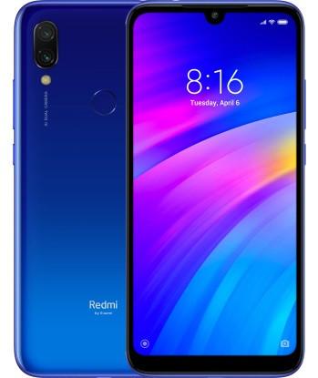 "Смартфон Xiaomi Redmi 7 Blue 3/32Gb, 12+2/8Мп, Snapdragon 632, 2sim, 6.26"" IPS, 4000mAh, 8 ядер"