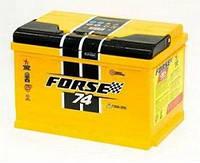 Акумулятор автомобільний FORSE  74-0 (R+)