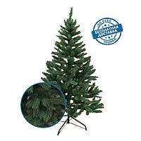 Президентская новогодняя елка зеленая искусственная литая хвоя 2,5 м пушистая ПРЕМИУМ класс, фото 1