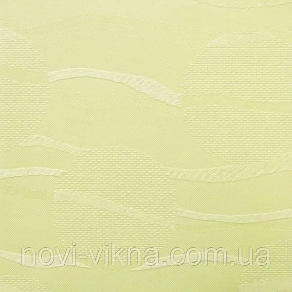 Рулонные жалюзи открытого типа, Sea 2078, ваниль.
