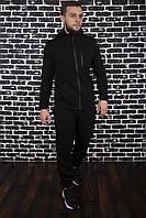 Спортивный костюм зимний мужской до - 30*С Х-black / ЛЮКС качество, фото 1