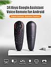 Air Mouse G30S, 33 обучаемые кнопки, Пульт Гіроскоп з мікрофоном, фото 3