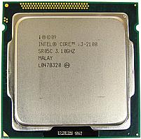 Процессор, Intel Core i3-2100, 4 ядра, 3.1 гГц