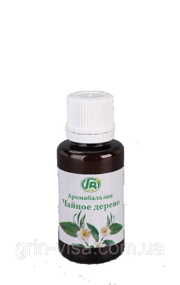 Чайное дерево | антисептический аромабальзам Грин-Виза | Защитная и иммуноукрепляющая формула |  25 мл