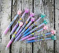 Ручка гелевая Прикольная Сова 3-х цветная Е-8063