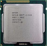Процесор, Intel Core i3-2120, 4 потоку, 3.3 гГц