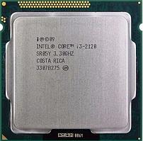 Процессор, Intel Core i3-2120, 4 ядра, 3.3 гГц