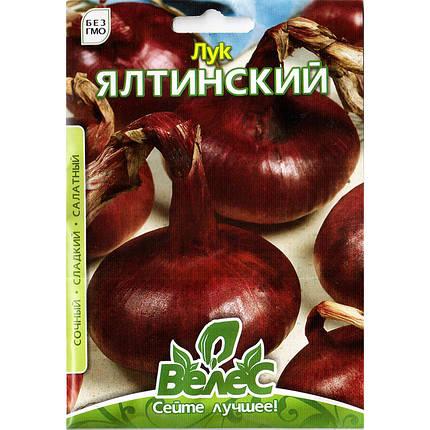 """Семена лука репчатого """"Ялтинский"""" (2.5 г) от ТМ """"Велес"""", фото 2"""