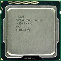 Процессор, Intel Core i3-2130, 4 ядра, 3.4 гГц