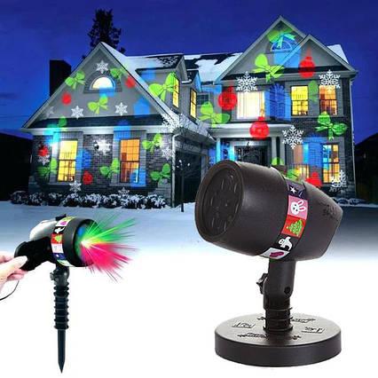 LED проектор Christmas Star shower slide show 12 слайдов, фото 2