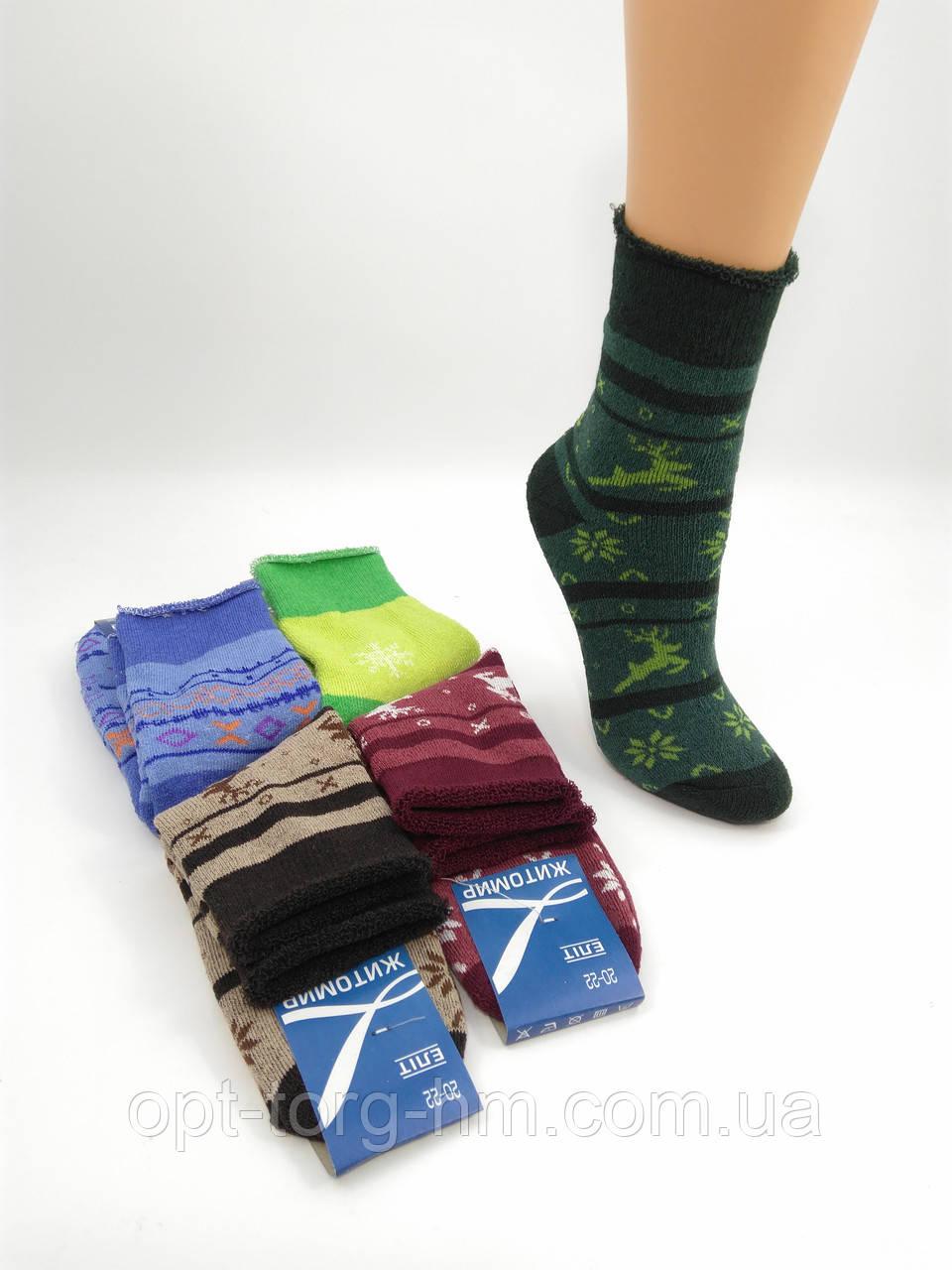 Махровые подростковые носки 20-22 (32-36ОБУВЬ)