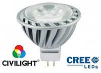 Світлодіодна лампа MR16 DP03P4 Turbo E, 4 Вт.,12 В, 200 лм, 6000К