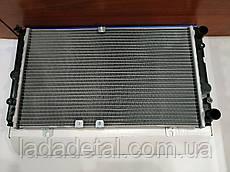 Радиатор Калина 1117,1118, 1119 серия Sport без кондиционера, охлаждения, алюминий Лузар