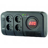 Электронный стабилизатор напряжения НСТ-500 ElectrO на 4 розетки 0.5 кВА