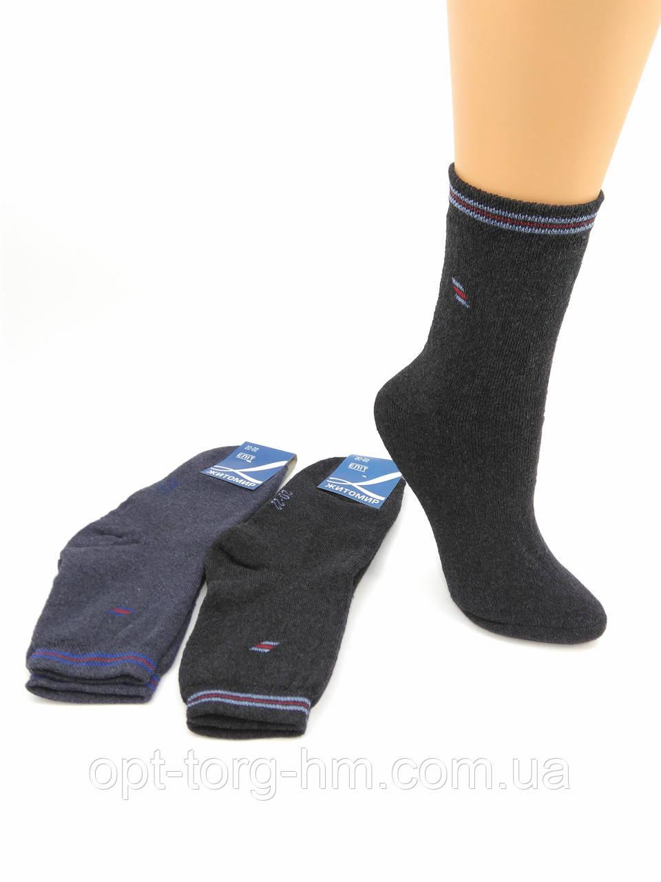 Махровые подростковые носки  20-22 (34-38обувь)
