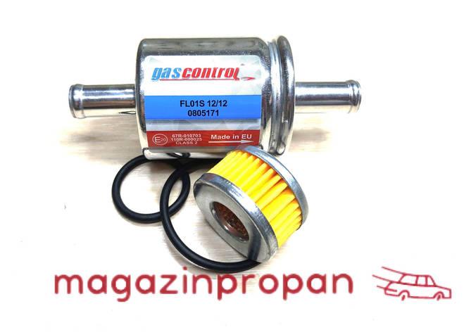 Фильтр тонкой очистки + вкладыш в редуктор Томасетто с резинками, фото 2