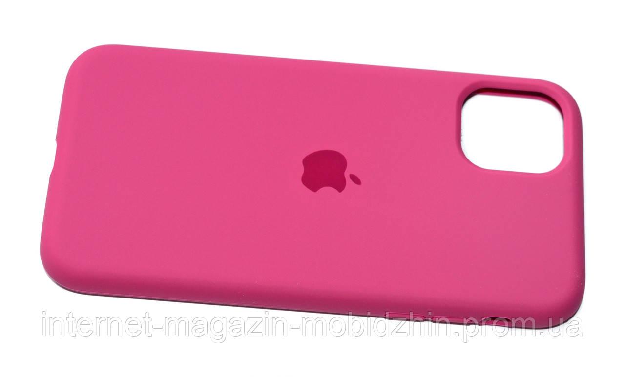 Чехол силиконовый Айфон Apple IPhone 11 Original Hibiscous