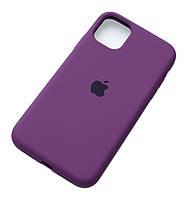 Чехол силиконовый Айфон Apple IPhone 11 Original Purple