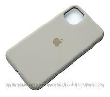 Чехол силиконовый Айфон Apple IPhone 11 Original Stone