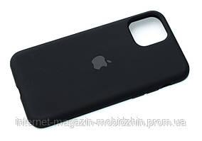 Чехол силиконовый Айфон Apple IPhone 11 Pro Original Black